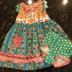Matilda Jane Sz 18-24 months dress and bloomers